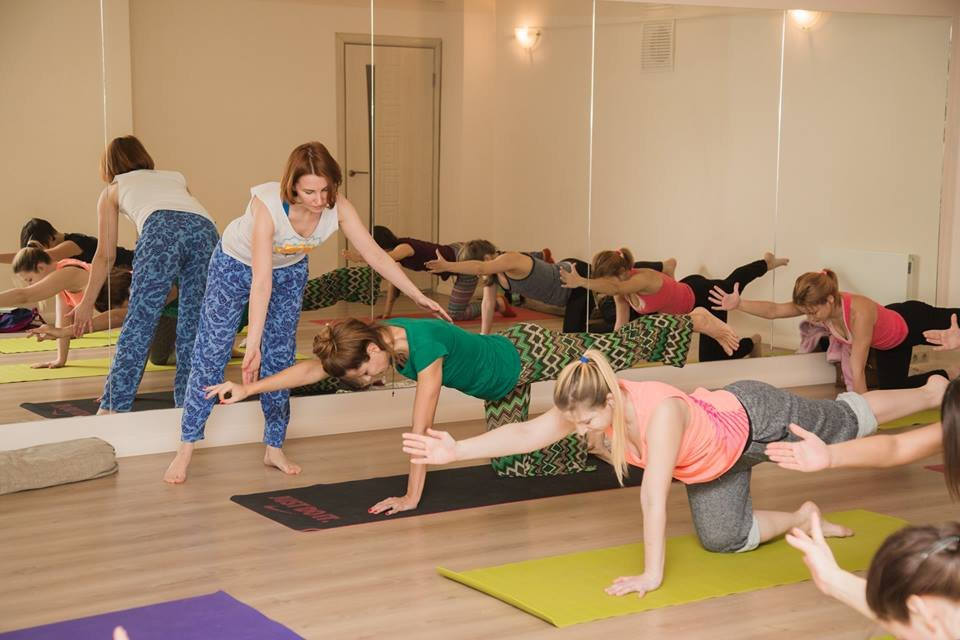 Йога для женщин 1